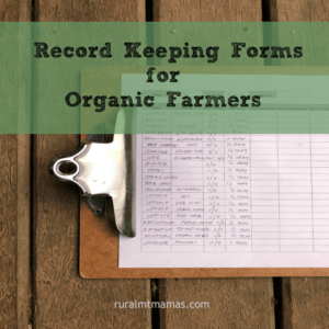 organic record keeping