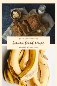 easy healthy banana bread recipe